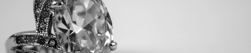 Photo d'une bannière avec un diamant